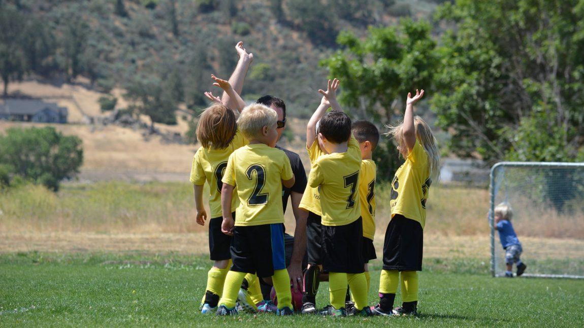 Fußballcamp im Warmen